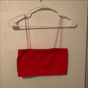 Urban outfitters red Bandeau